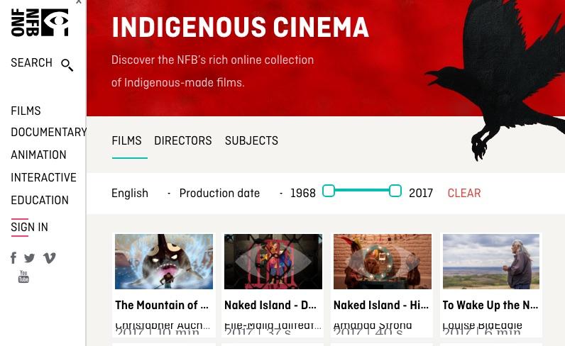 Visit National Film Board for Indigenous-made Films