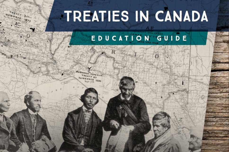 Read the Treaties in Canada Education Guide