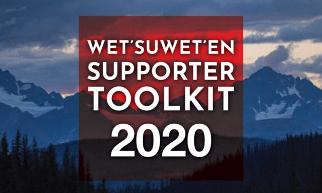 Wet'suwet'en Supporter Toolkit 2020